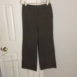 """Anthropologie """"Sitwell"""" size 10 striped trousers"""